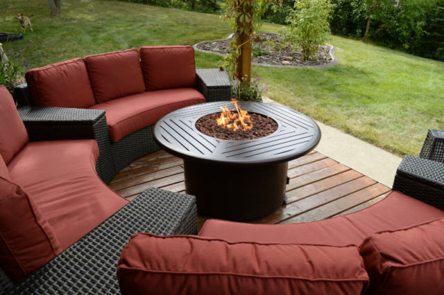 Round Fire Table Edmonton