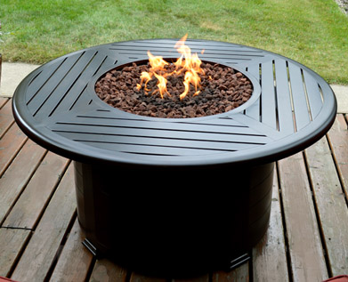 "36"" Round Fire Table Edmonton"