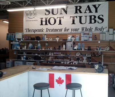 Hot Tub Service Edmonton